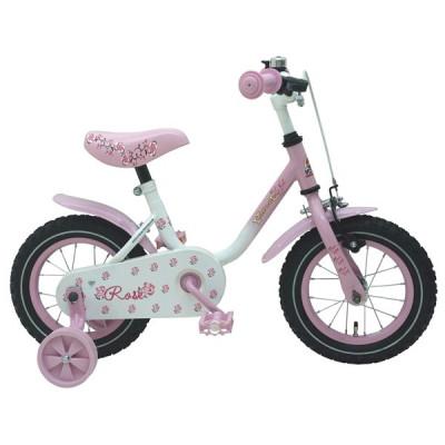 Volare, Barncykel med stödhjul - Rose 12