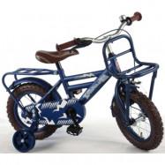 """Volare, Barncykel med stödhjul - Urban 12""""blå"""