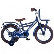 """Volare, Barncykel med stödhjul - Urban 16""""blå"""