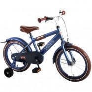 """Volare, Barncykel med stödhjul - Urban City 16""""mattblå"""