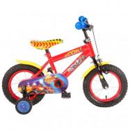 """Volare Blaze&Monstermaskinerna, Barncykel med stödhjul 12""""röd"""