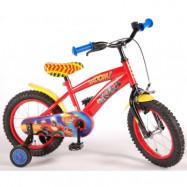 """Volare Blaze&Monstermaskinerna, Barncykel med stödhjul 14""""röd"""