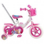 """Volare Disney princess, Cykel med stång och stödhjul 10"""""""