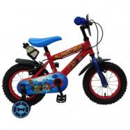 """Volare Paw Patrol, Barncykel med stödhjul&handbromsar 12""""röd"""
