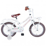 "Volare Yipeeh, Barncykel med stödhjul - Urban Liberty 16""vit"