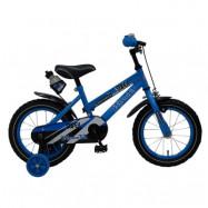 """Yipeeh, Barncykel med stödhjul - Super Blue 14""""blå"""