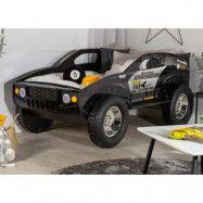 Barnsäng Unlimited Speed Jeep 210x120 cm - Svart