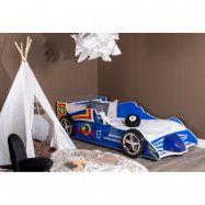 Barnsäng Windstorm Formel 1-Bil 220x110cm - Blå