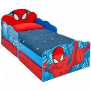 Spider-Man juniorsäng u. madrass
