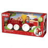 BRIO, My Home Town 30265 Traktorset bondgård