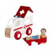 BRIO, My Home Town 30381 Ambulans med ljus- och ljud