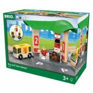 BRIO World - 33427 Buss- och tågstation