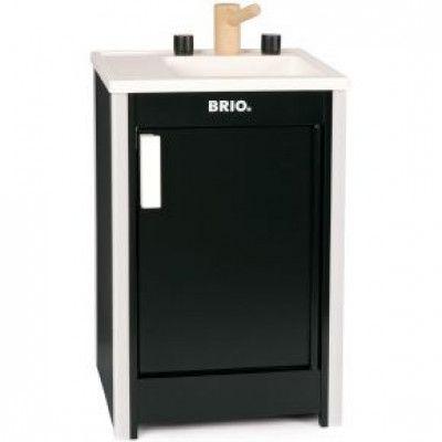 BRIO - Diskbänk (Svart)
