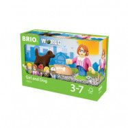 BRIO World 33952 Figur med hund