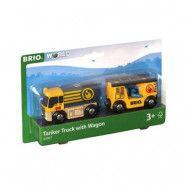 BRIO, Lift&Load 33907 Tankbil med släp