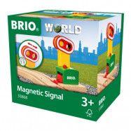 BRIO World - 33868 Magnetisk signalskylt