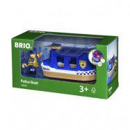 BRIO Rescue 33820 Polisbåt