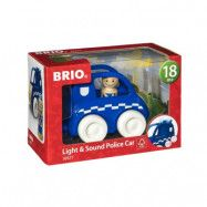 BRIO - Polisbil med ljus och ljud