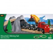 BRIO, Railway 33163 Mountain Mining Set