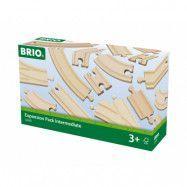 BRIO, Rail&Road 33402 Påbyggnadssats spår&växlar