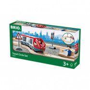 BRIO, Travel 33511 Persontåg cirkelset