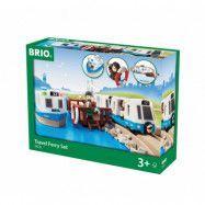 BRIO, Travel 33725 Färjeset med restema