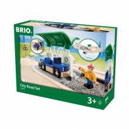 BRIO, Railway 33747 City Vägset med Bensinstation