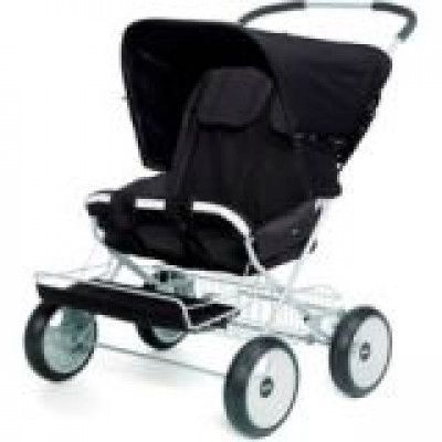 Brio Twin Sitty Sufflett (Svart)