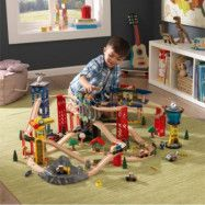 KidKraft - Super Highway Train Set