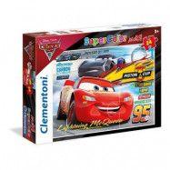 Clementoni Disney Cars MAXI Pussel (24-bitar)