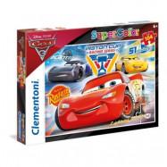 Clementoni, Pussel SuperColors - Disney Cars 3 104-bitar