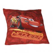 Simba Disney Cars 3, Kudde 35x35 cm - Blixten McQueen röd