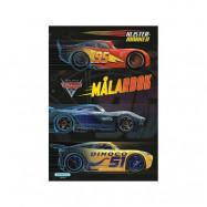 Egmont Kärnan Disney Cars 3, Målarbok med klistermärken
