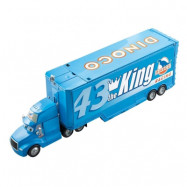 Mattel Disney Cars, Dinoco Drop&Jump Gray Truck