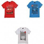 Disney Cars Lightning Mcqueen kortärmad T-shirt