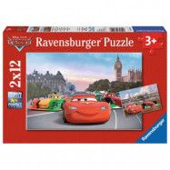 Ravensburger Pussel Disney Cars 2x12 bitar