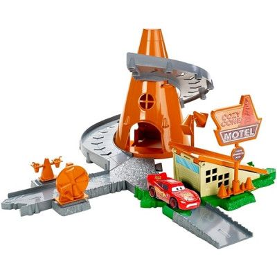 Mattel Disney Cars, Storyset - Cosy Cone Spiral Rampway