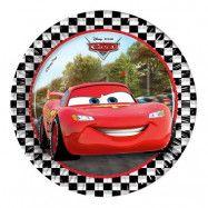 Pappersassietter Disney Bilar Formula - 8-pack