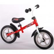 """Volare Disney Cars, Balanscykel stålram 12""""röd"""