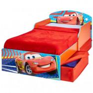 Worlds Apart, Juniorsäng - Disney Cars med lådor röd/blå