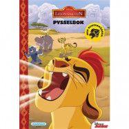 Disney Lejonvakten, Pysselbok + klistermärken