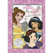 Disney Princess - Målarbok med tavelram
