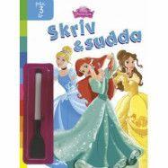 Disney Princess - Skriv och Sudda Målarbok