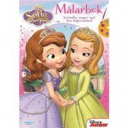 Disney Sofia den Första, Målarbok med Klistermärken