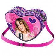 """StorOchLiten Disney Violetta Handväska""""Heart Love"""""""