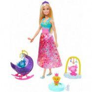 Barbie Dreamtopia drak skötare lekset