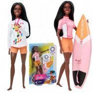 Barbie Olympics Docka Surfing