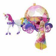 Barbie - Vagn med häst