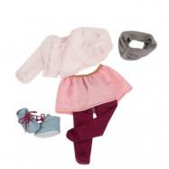 Our Generation, Dockkläder - Deluxe Pälsjacka med halsduk