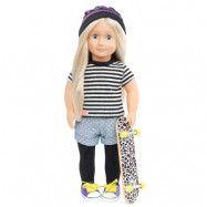 Our Generation - Dockkläder - Skateboard